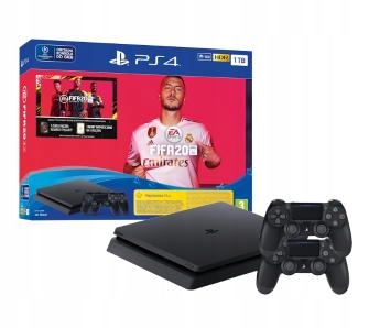 PlayStation 4 Slim 1TB + 2xPad + Fifa 20 PL PS4
