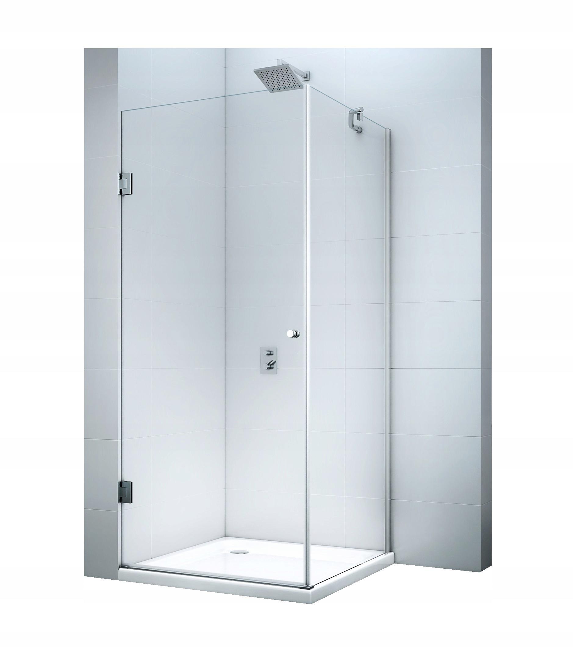 Výklopný sprchovací kút MS302 SWISS 100x100 8mm