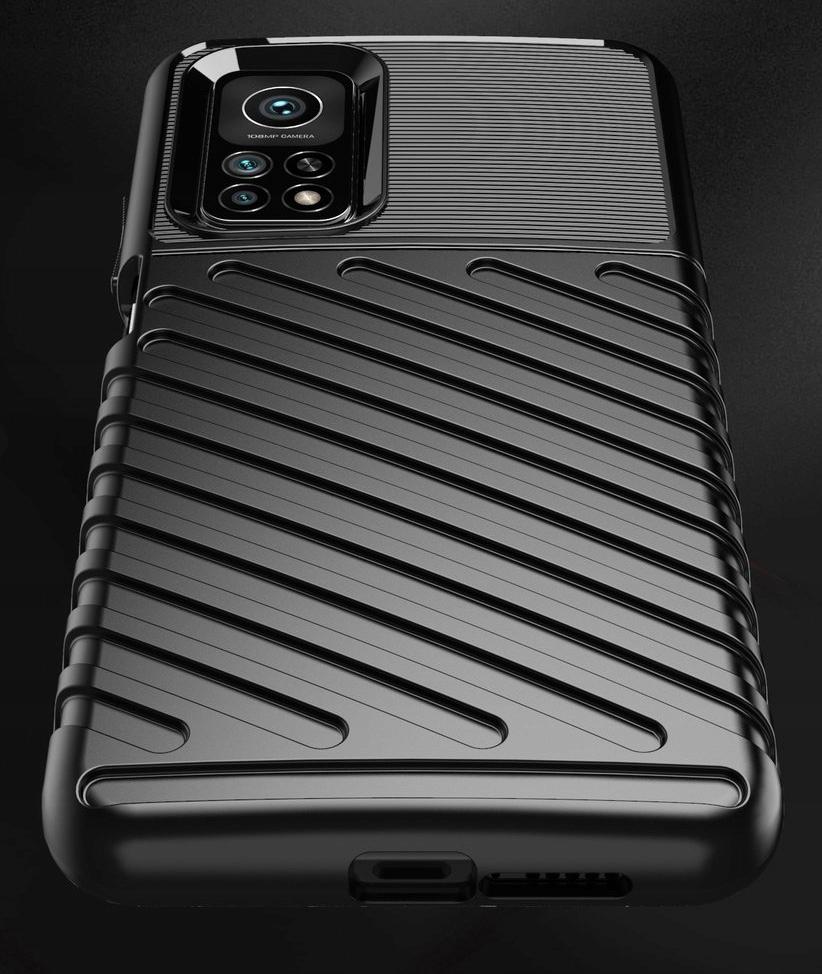 Etui do Xiaomi Mi 10T Pancerne Case + Szkło 9H Kolor czarny