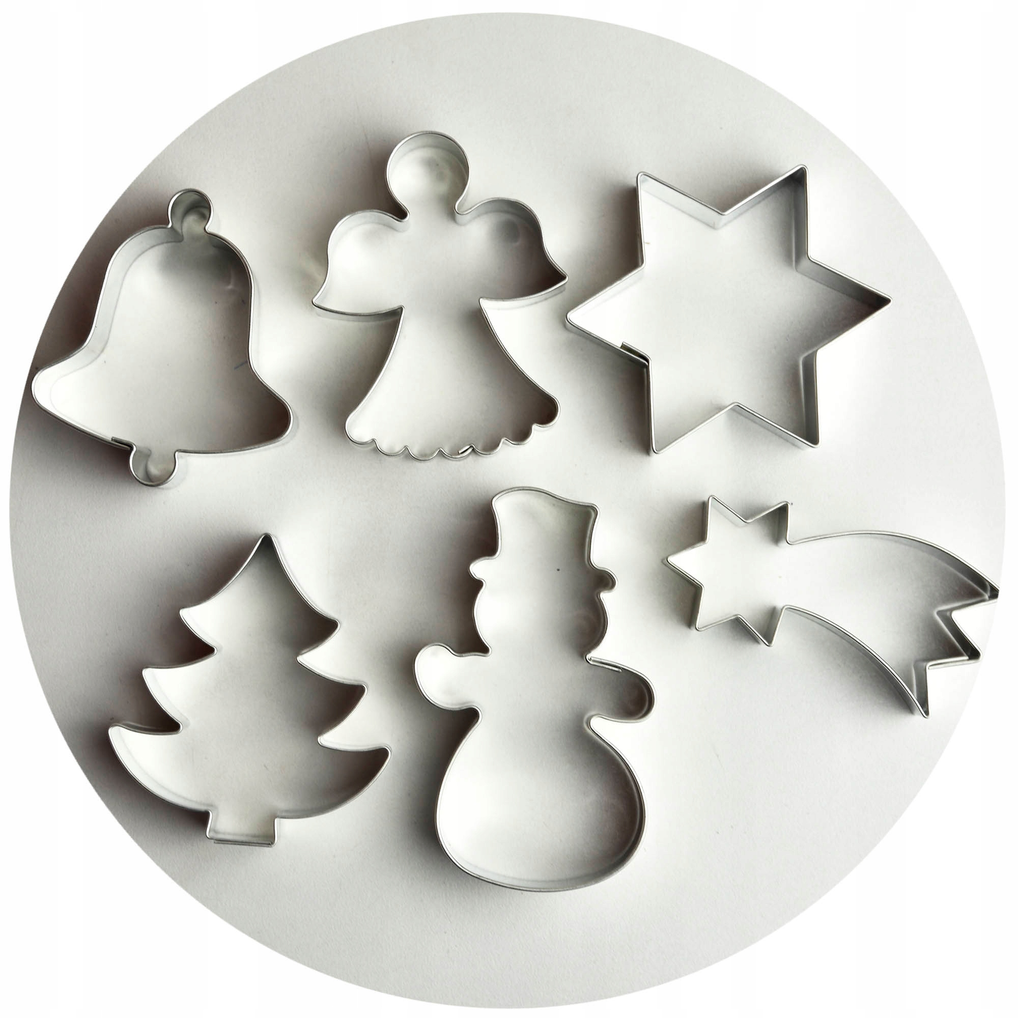 FOREMKI FOREMKA do ciastek świąteczne święta 6szt
