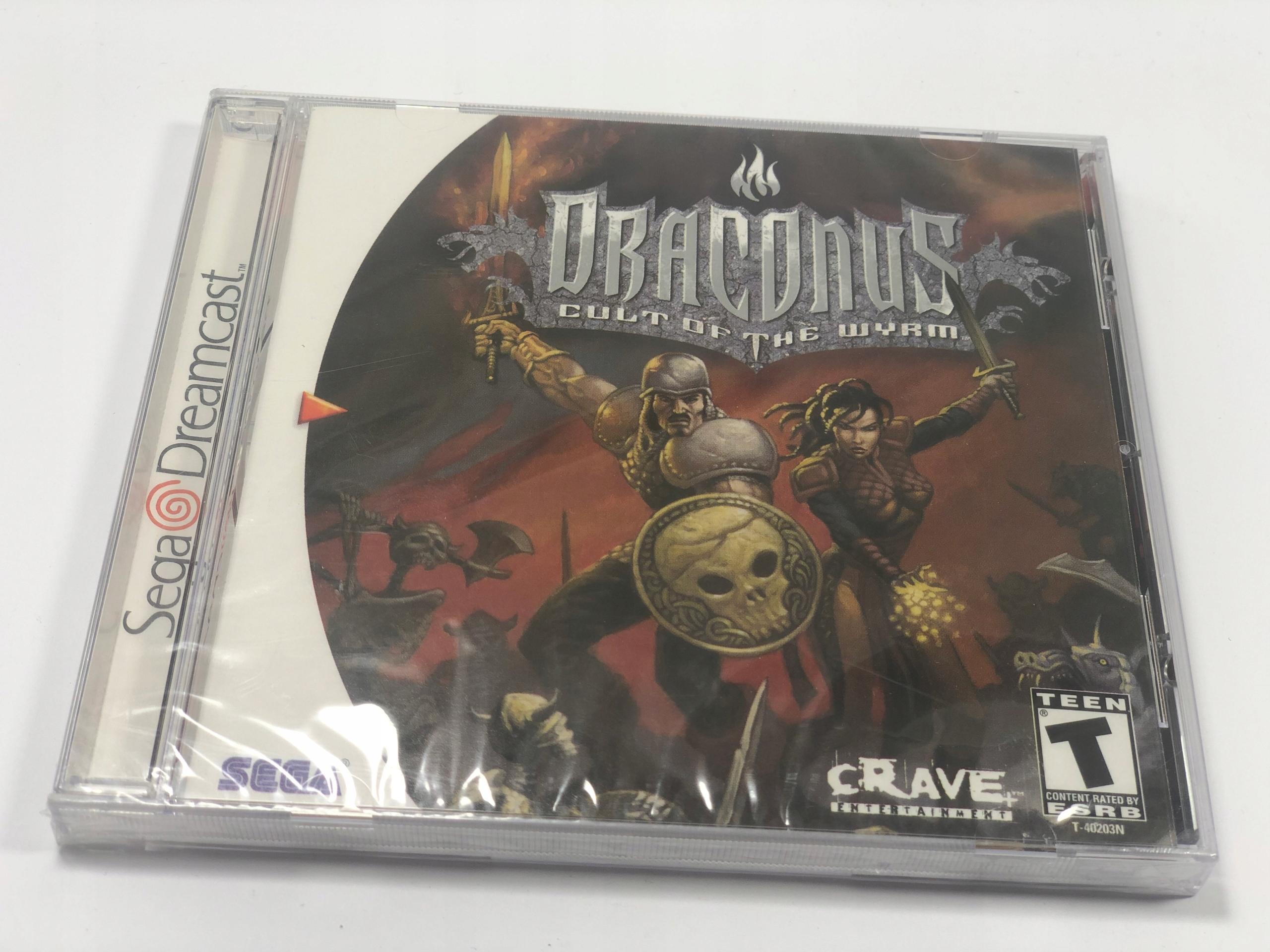 Draconus Kult Wyrm Sega DreamCast FILM