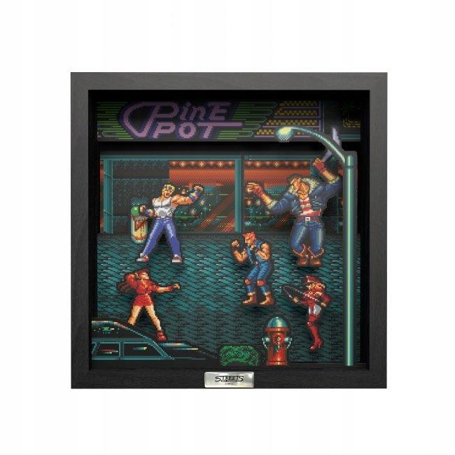 Pixel Frames Retro Frame from Streets of Rage Roz. Ľ