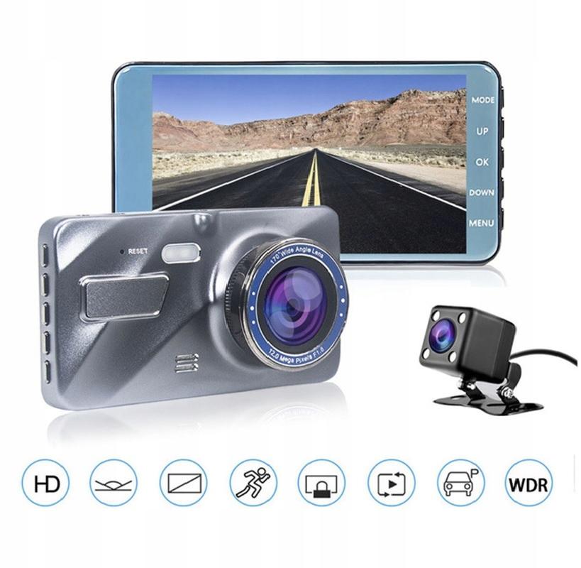 Video Rejestrator Jazdy Kamera samochodowa cofania Zasilanie bateryjne gniazdo zapalniczki samochodowej USB
