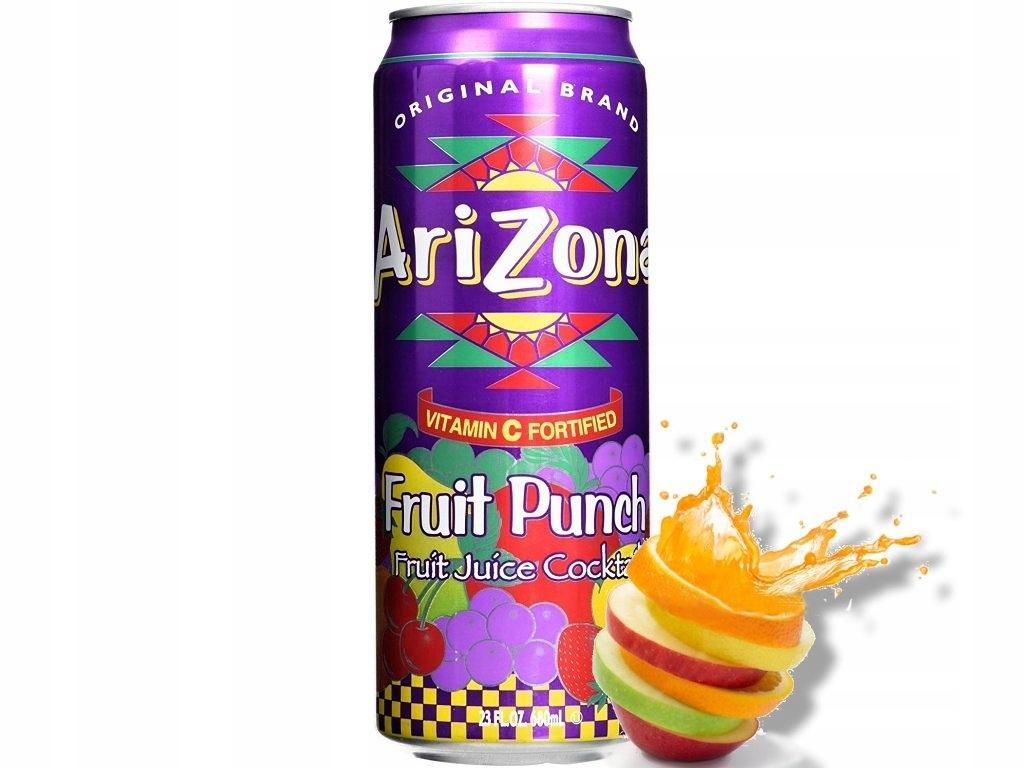 Arizona Fruit Punch 680ml USA Duża Puszka!