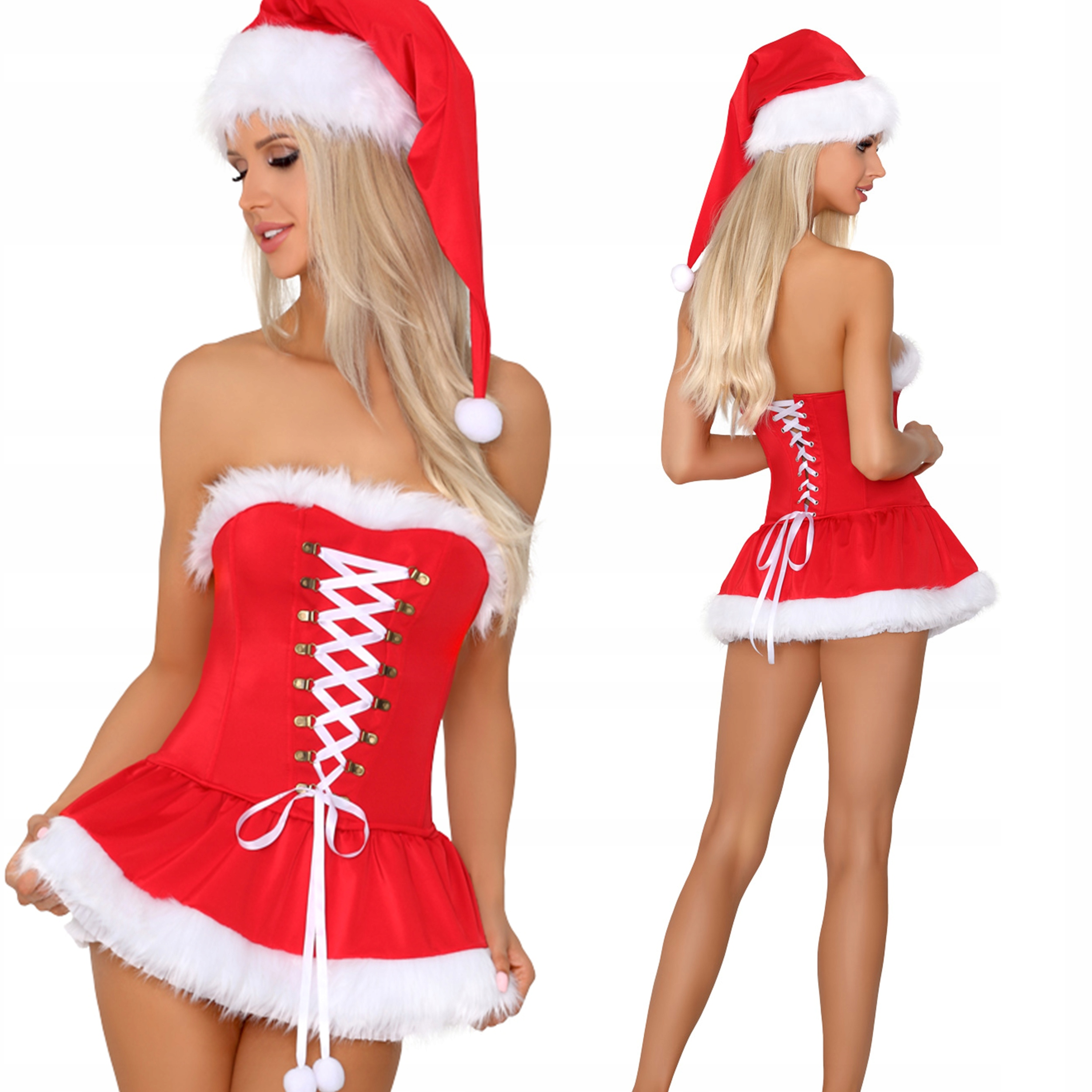 Наряд Деда Мороза наряд Снежинка костюм S / M