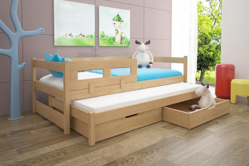 ТОМ двуспальная кровать детская с перилами