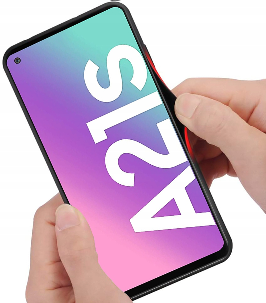 Etui do Samsung Galaxy A21S Case Glass + Szkło 9H Producent 3Tel
