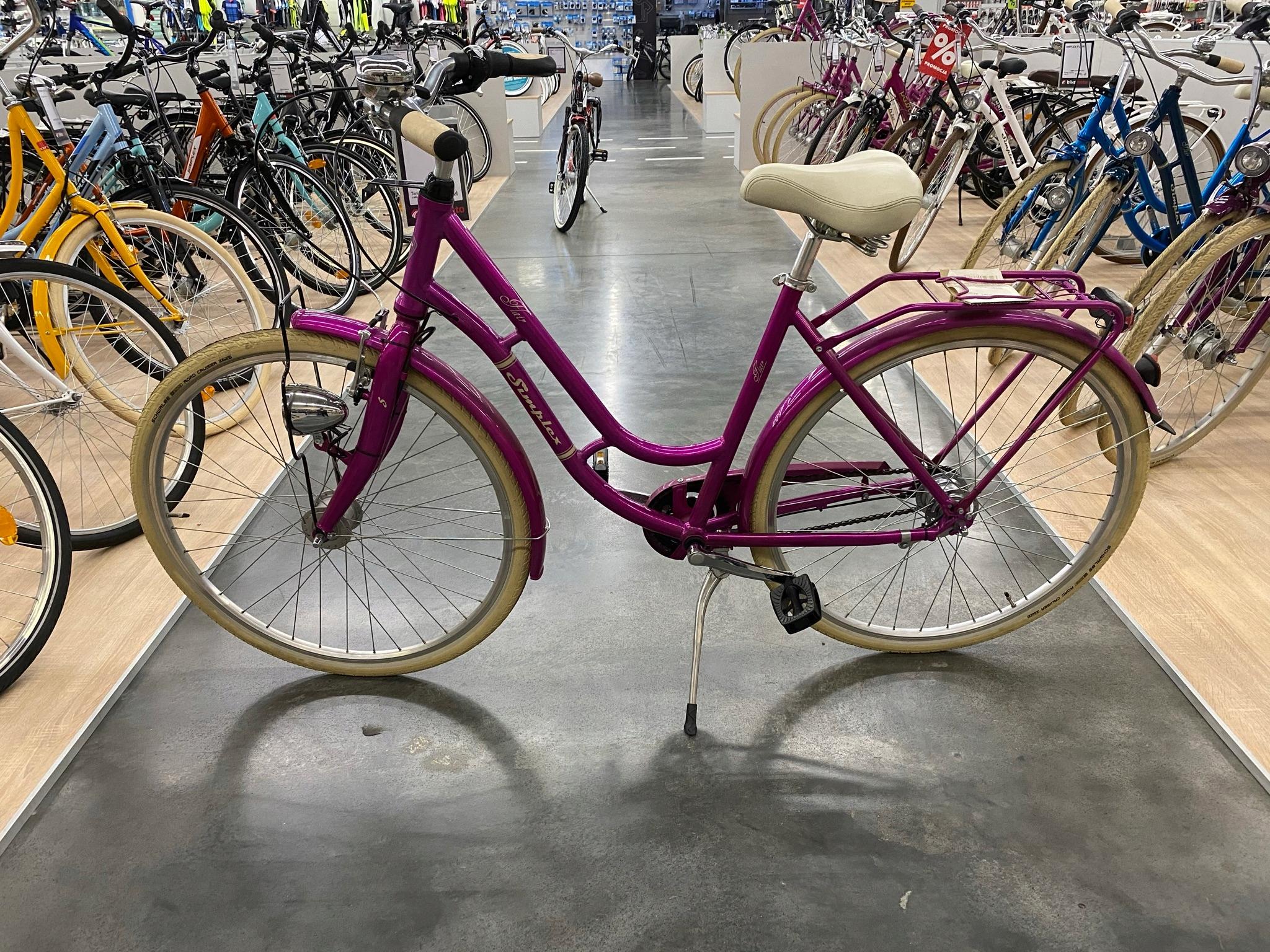 Mestský bicykel Simplex Flair 28 Retro RZESZÓW