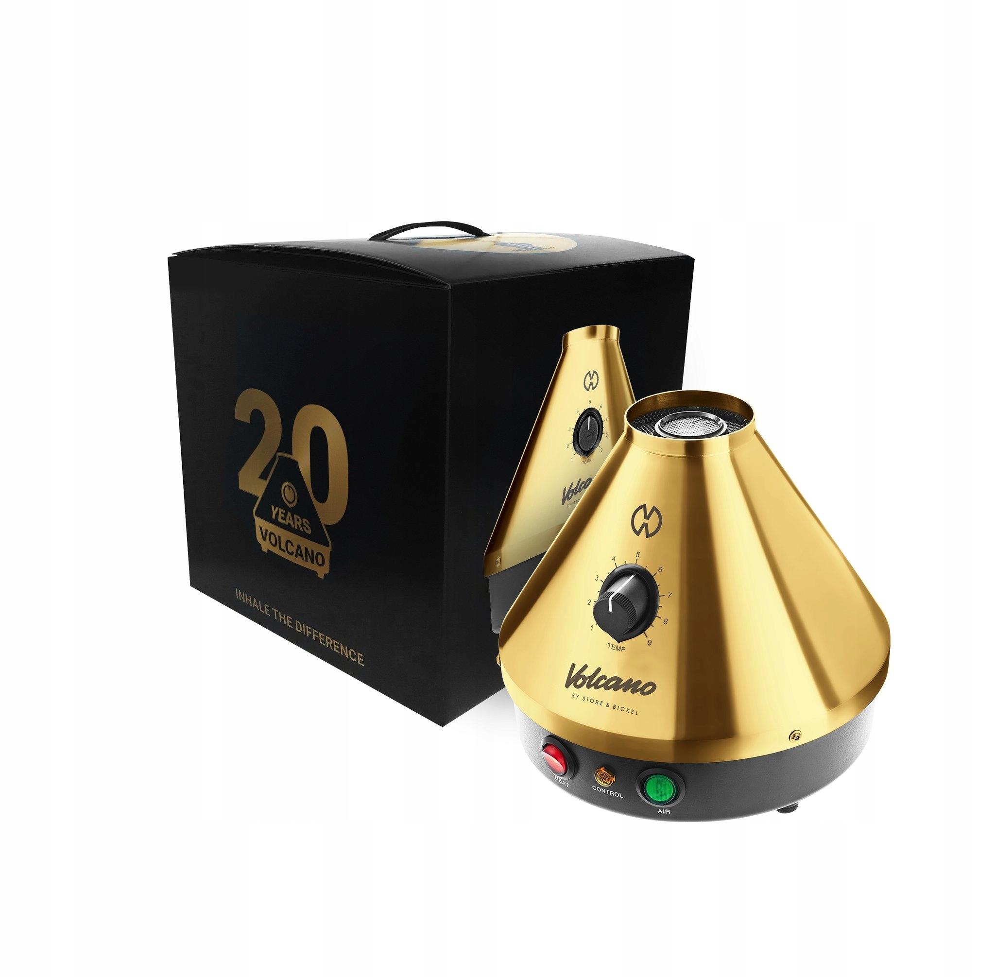 VOLCANO VAPORIZER CLASSIC лимитированная золотая серия