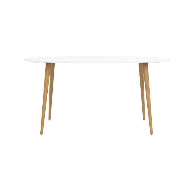 Moderný jedálenský stôl v Oslo 160 x 80 cm v retro štýle