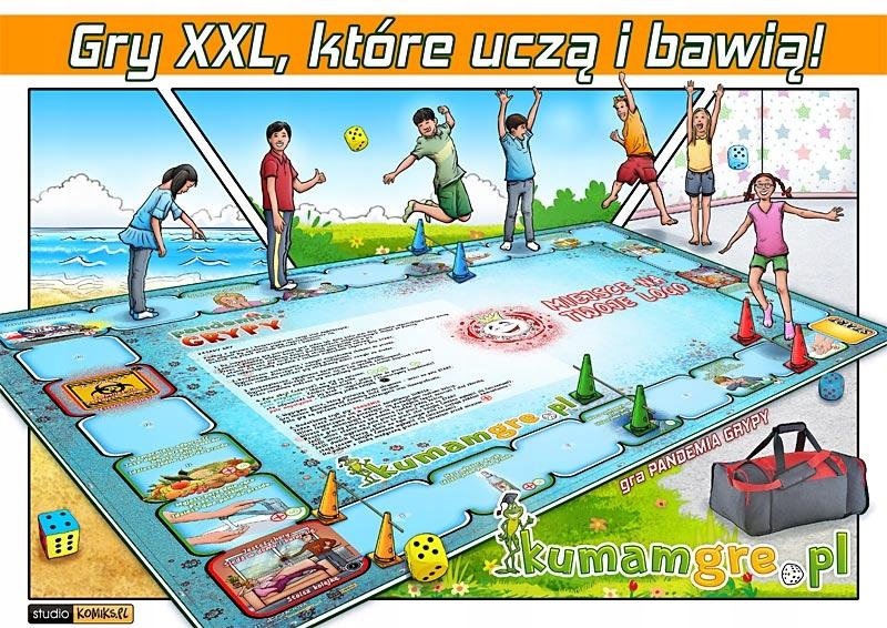 eko gra kopertowa dla dzieci PANDEMIA GRYPY EAN 5904157454929