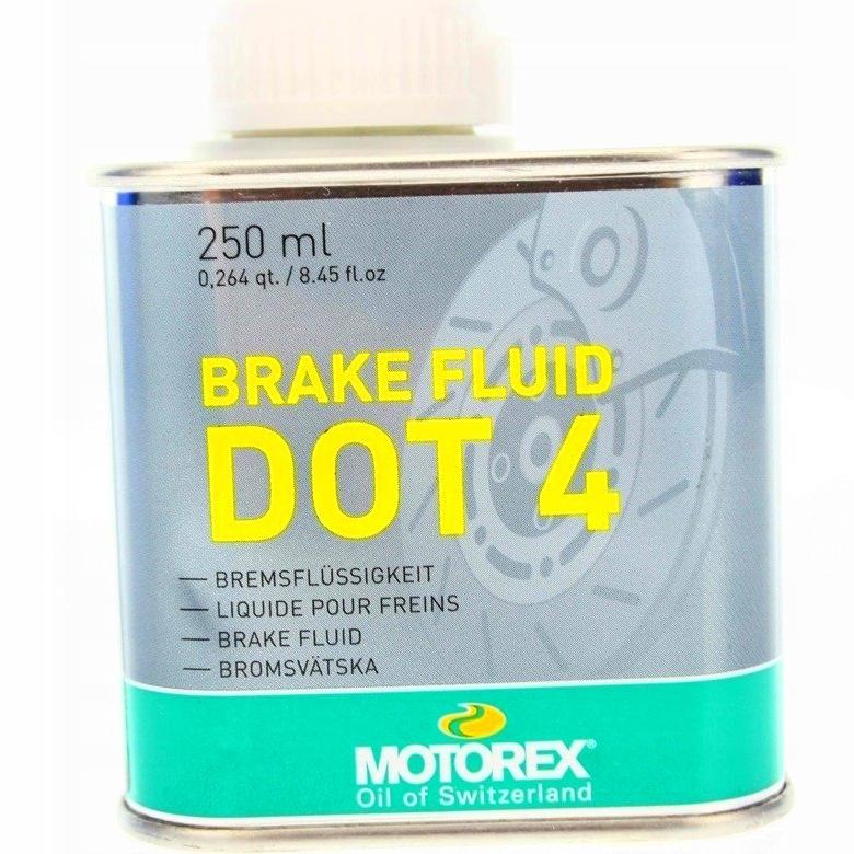 MOTOREX BRAKE FLUID DOT 4.0 250 мл