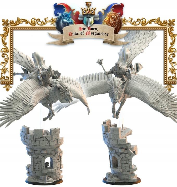 Sir Bors, Duke of Morgaledes -Lost Kingdom-3D Tlač