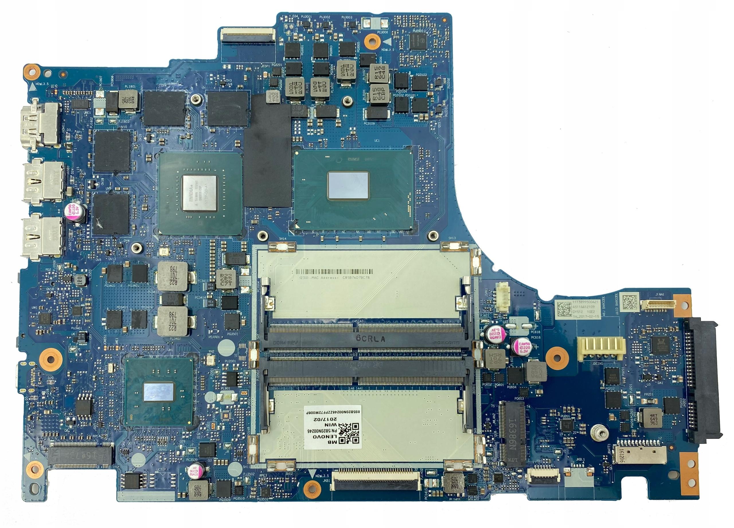 AM91 Płyta NM-B191 Y520-15IKBN i5-7300HQ GTX 1050 9700444233 - Sklep internetowy AGD, RTV, telefony, laptopy - Allegro.pl