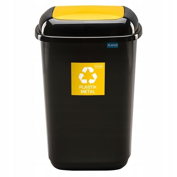90l kôš na segregáciu odpadu a odpadu PLASTIK
