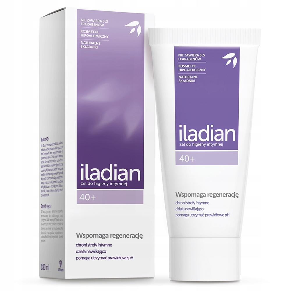 Iladian гель для интимной гигиены 40+ 180 мл
