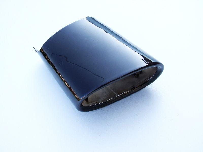 bmw e90 e91 наконечник глушителя black chrome оригинал