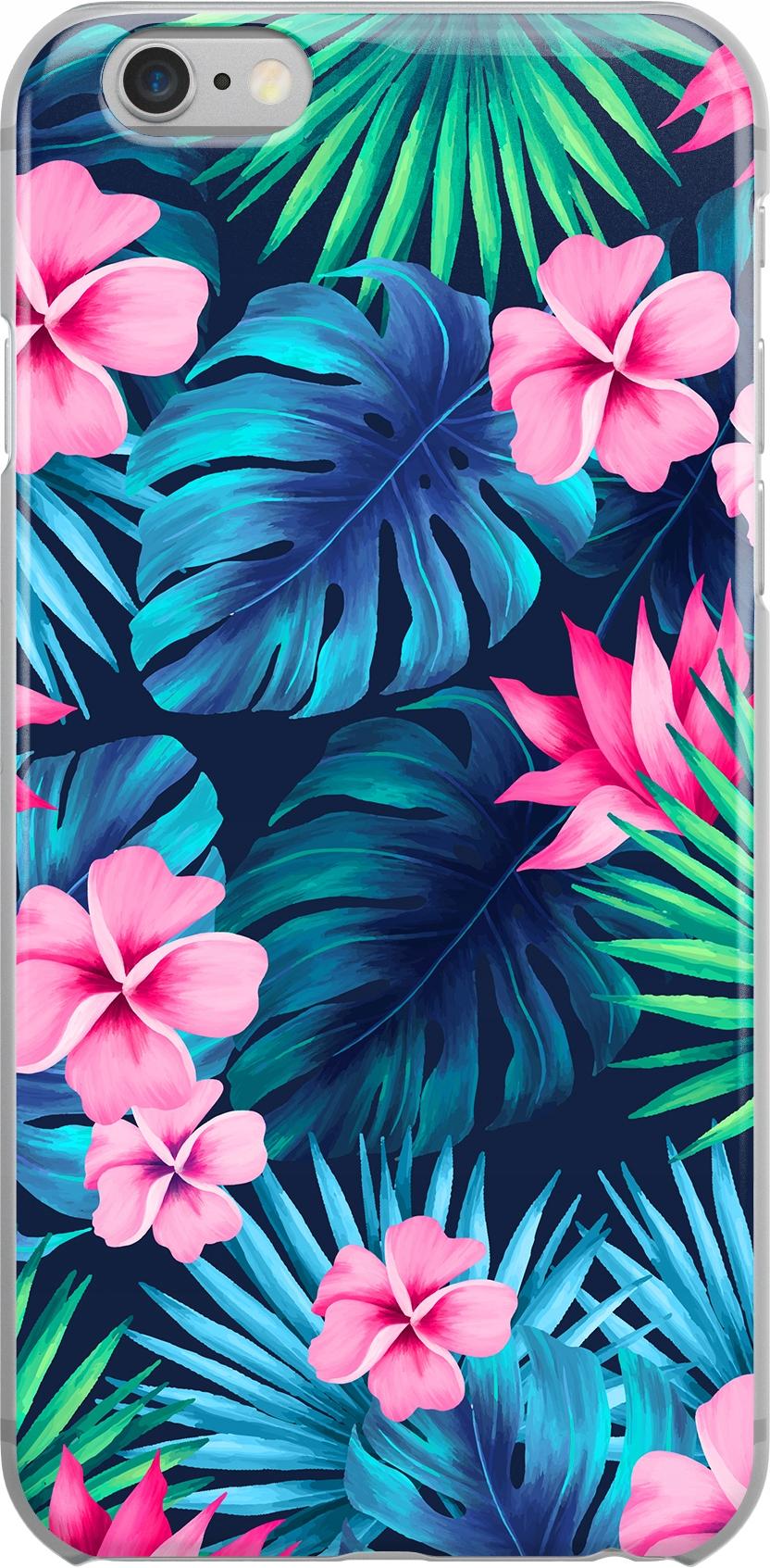 Etui Wzory Kwiaty Huawei Y8P