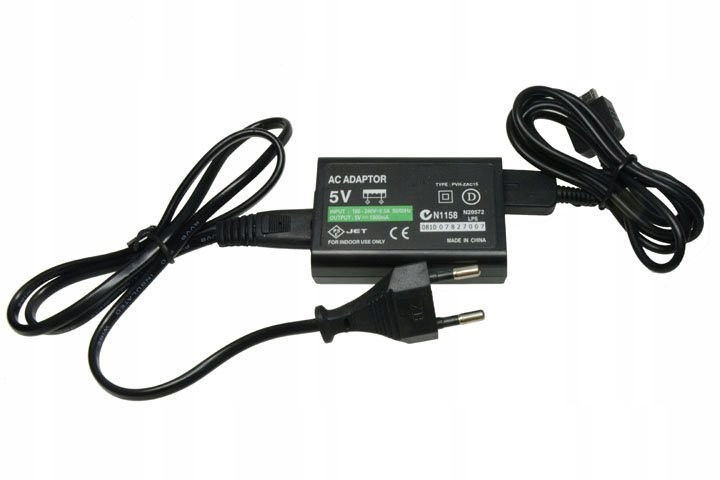 Item POWER SUPPLY CHARGER FOR PS VITA STORE IT7 CHOJNICE