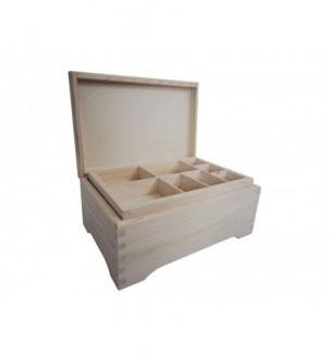 Rakva / krabica / retro na šperky s vložkou