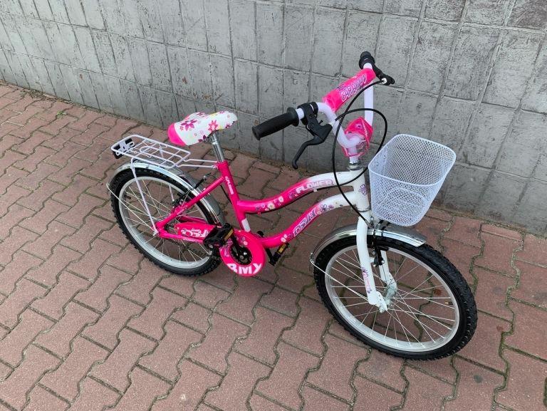 Rower Caraiman 20 Cali Rozowy Dla Dziewczynki 9484473208 Allegro Pl