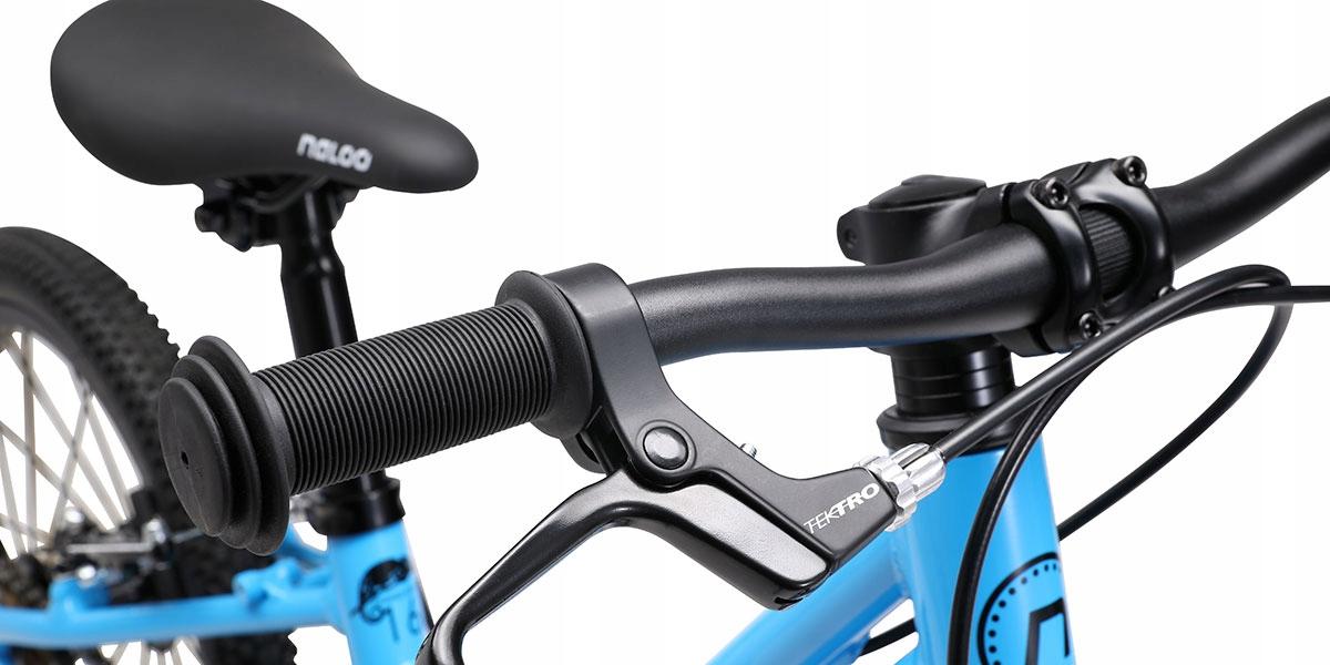 """Rower NALOO BIKES KAMELEON 24"""" Pomarańczowy Materiał ramy aluminium"""