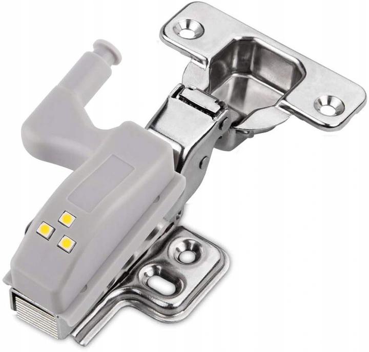 Светодиодный светильник для дверной петли шкафа 3 светодиода
