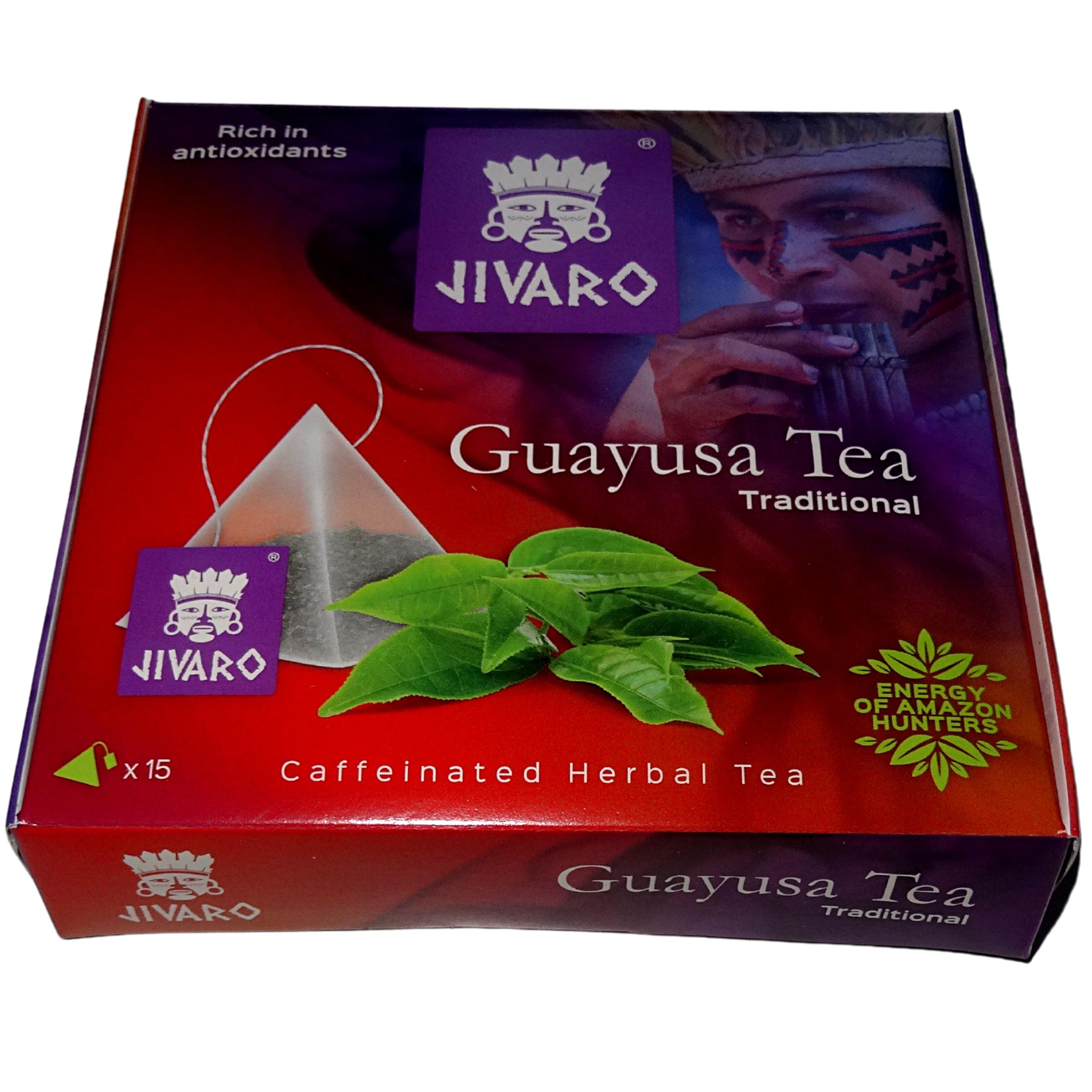 GUAYUSA Herbata JIVARO ZIELONA ENERGIA ENRGIA SLIM Kod producenta 590368-J-SL-O