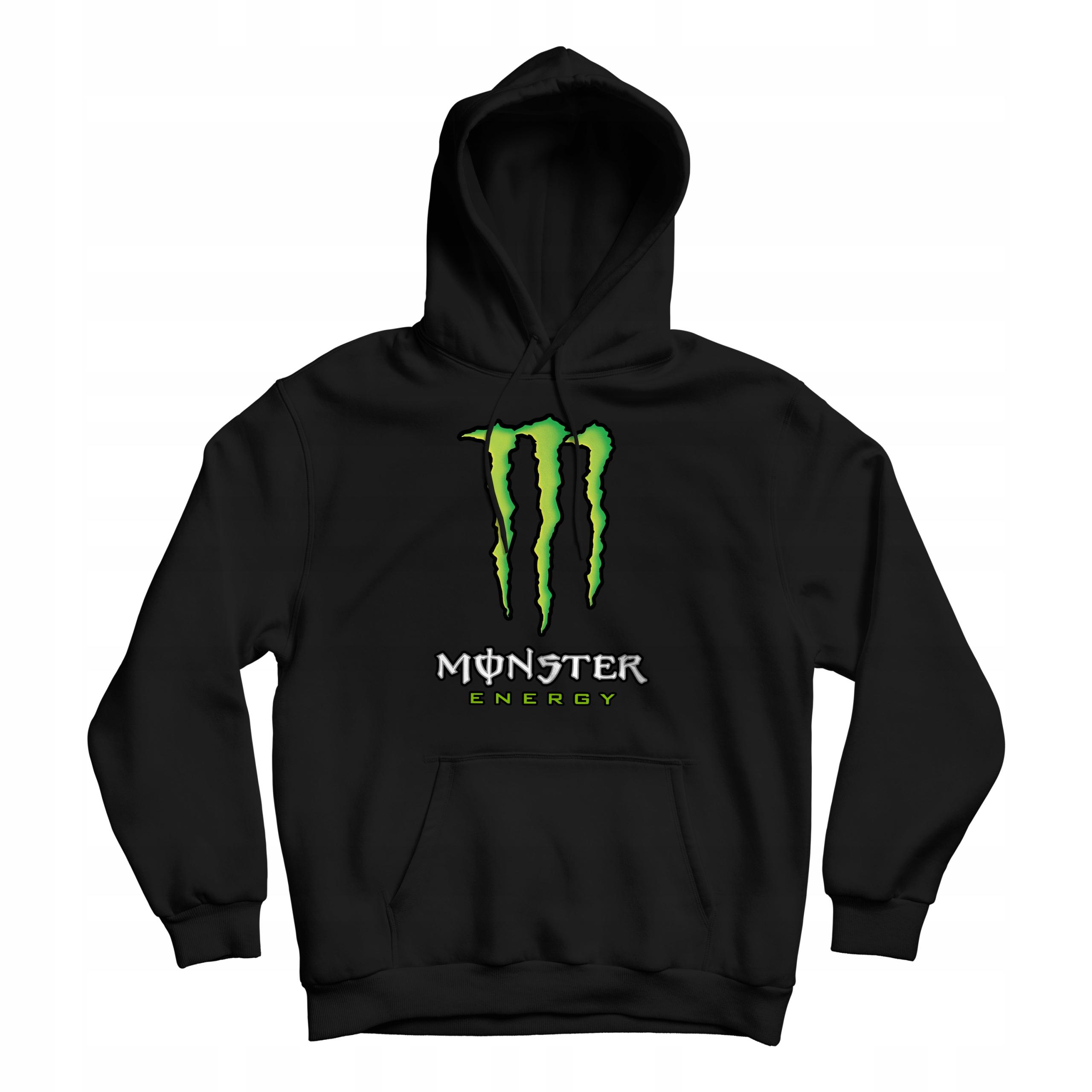 Bluza z Kapturem damska Monster Energy Prezent XL