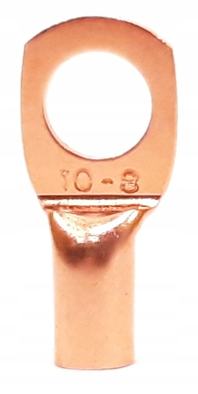 Медный кольцевой наконечник, M8 10 мм2