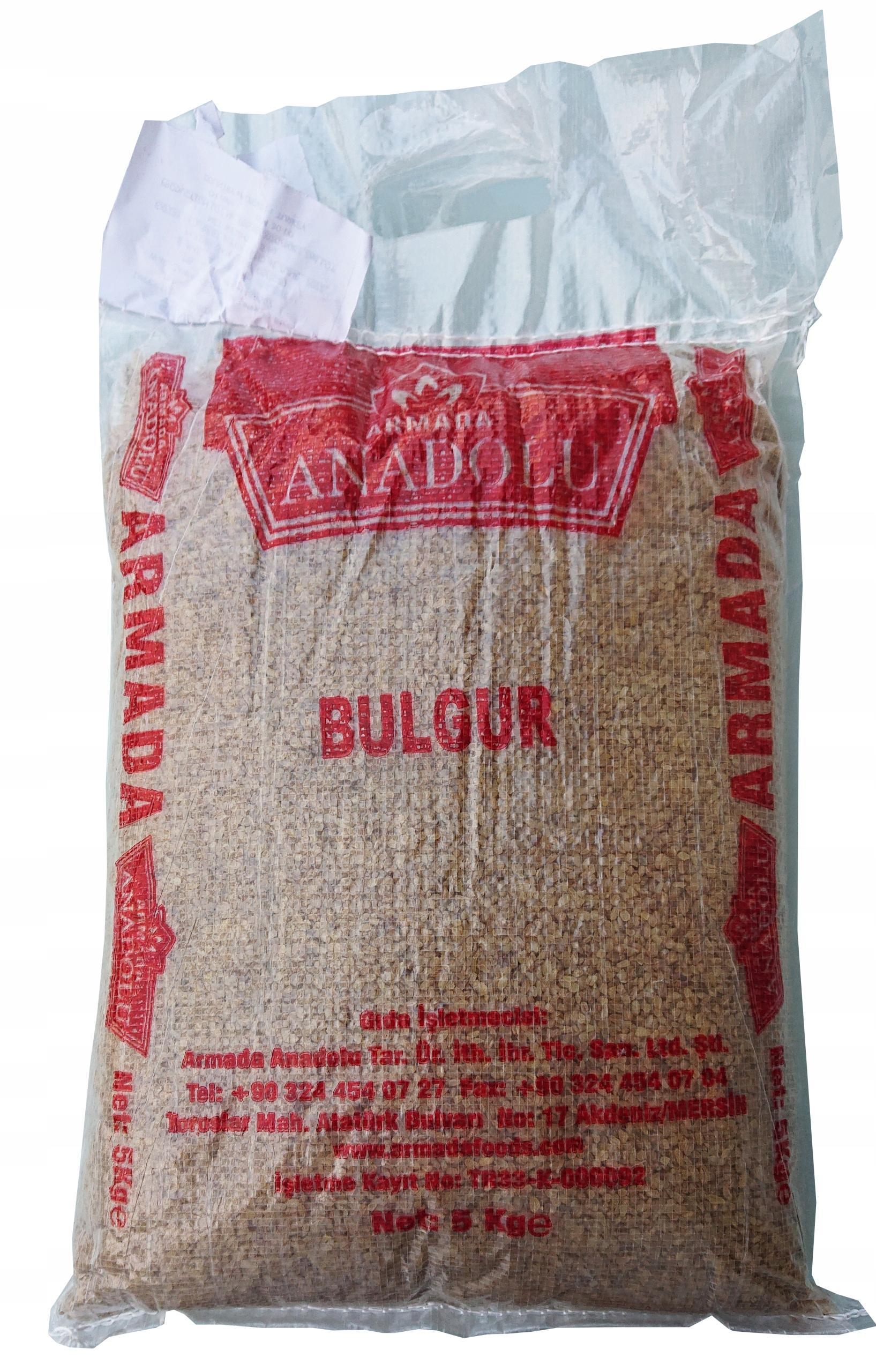 Kasza Bulgur 5kg