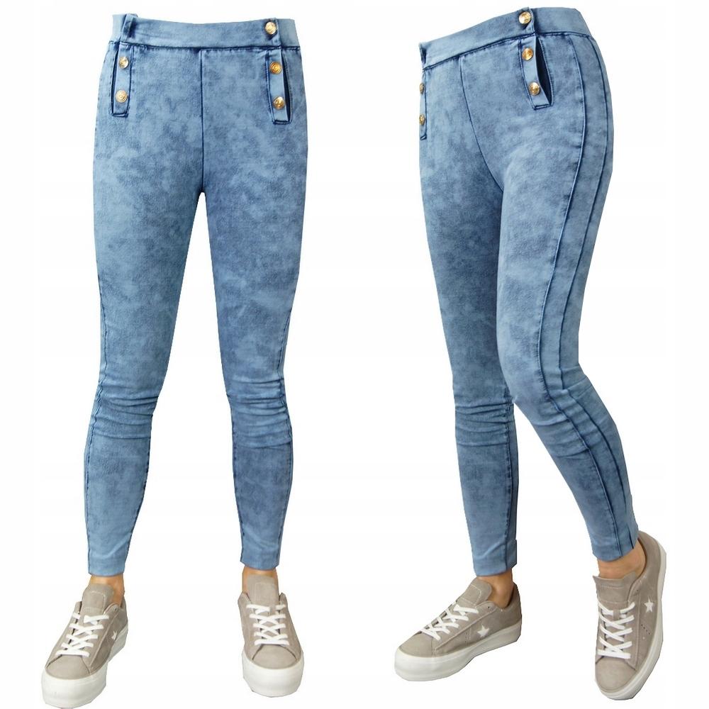 ЛЕГИНСЫ брюки, ДЖИНСЫ, гетры, GUZICZKI, N 128-134