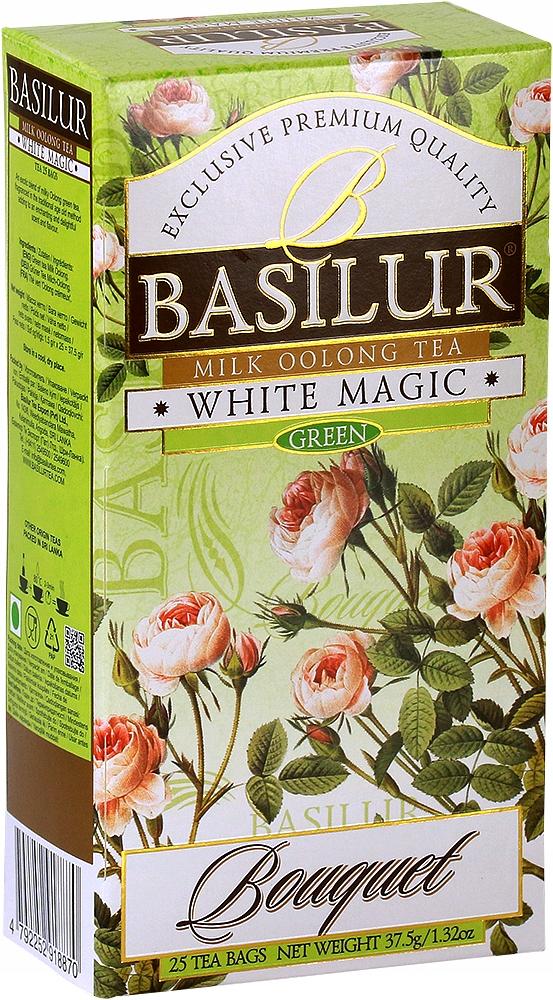 Herbata chińska oolong Basilur White Magic 25x1,5g