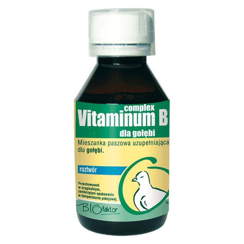 BIOFAKTOR Vitaminum B complex dla gołębi 100 ml
