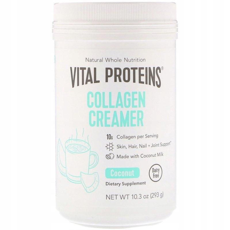 VITAL PROTEINS Collagen Creamer 293g Аромат кокоса