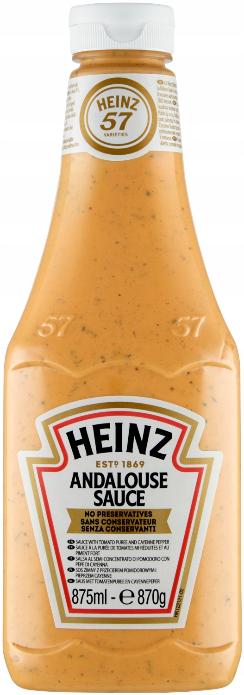 Андалузский соус Heinz с помидорами и перцем 875мл