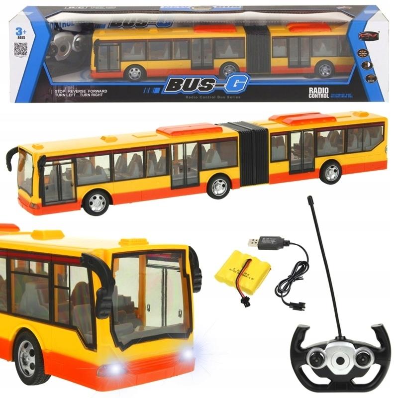 Diaľkovo ovládané kĺbové autobusové RC svetlo