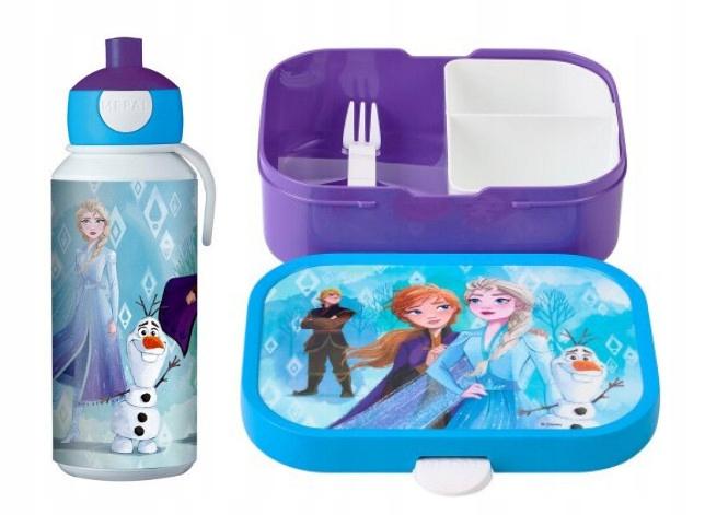 Mepal Fľaša a súprava na obed pre dieťa Frozen