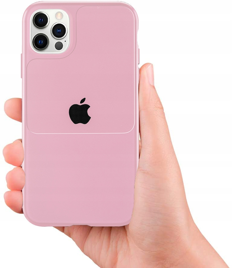 Etui do iPhone 12 Pro Case Silikon Guma + SZKŁO Dedykowany model iPhone 12 Pro