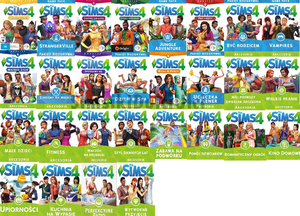 Item The Sims 4 - All the Extras   DLC PC WARRANTY