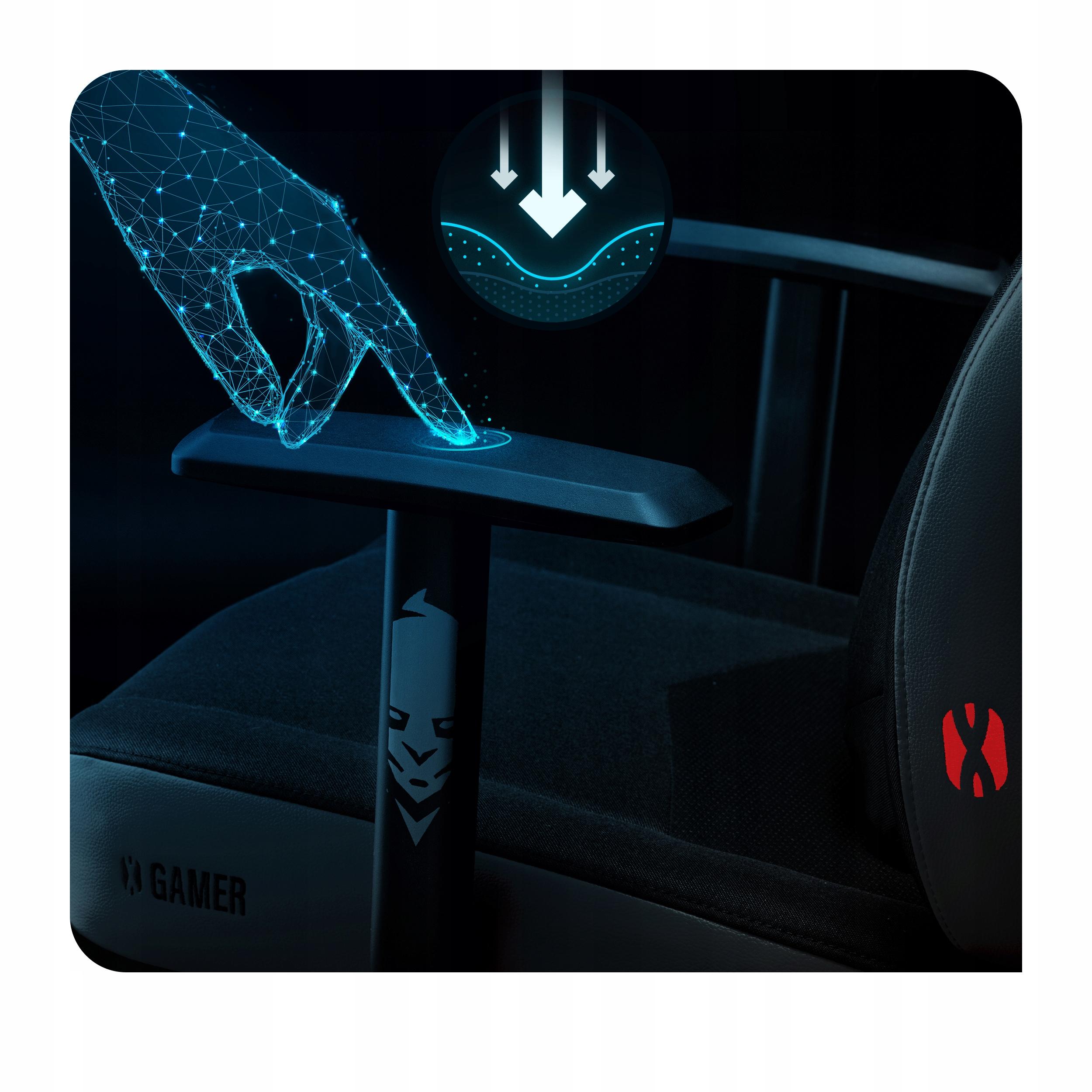 DIABLO X-GAMER ИГРОВОЕ КРЕСЛО для игрока OFFICE Глубина сиденья 55 см