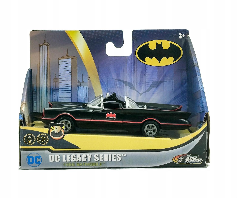 BATMOBILE MODEL 1966 ŚWIATŁO I DŹWIĘK ROAD RIPPERS Bohater Batman