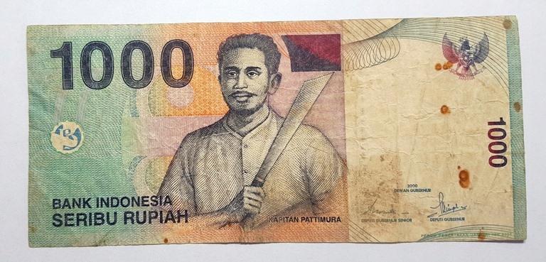 INDONEZJA 1000 Rupiah 2000 ROK st.3