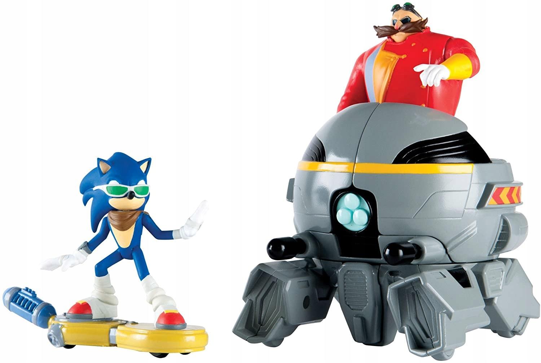 Sonic vs. Akčná figúrka Eggman Rýchlo ako blesk