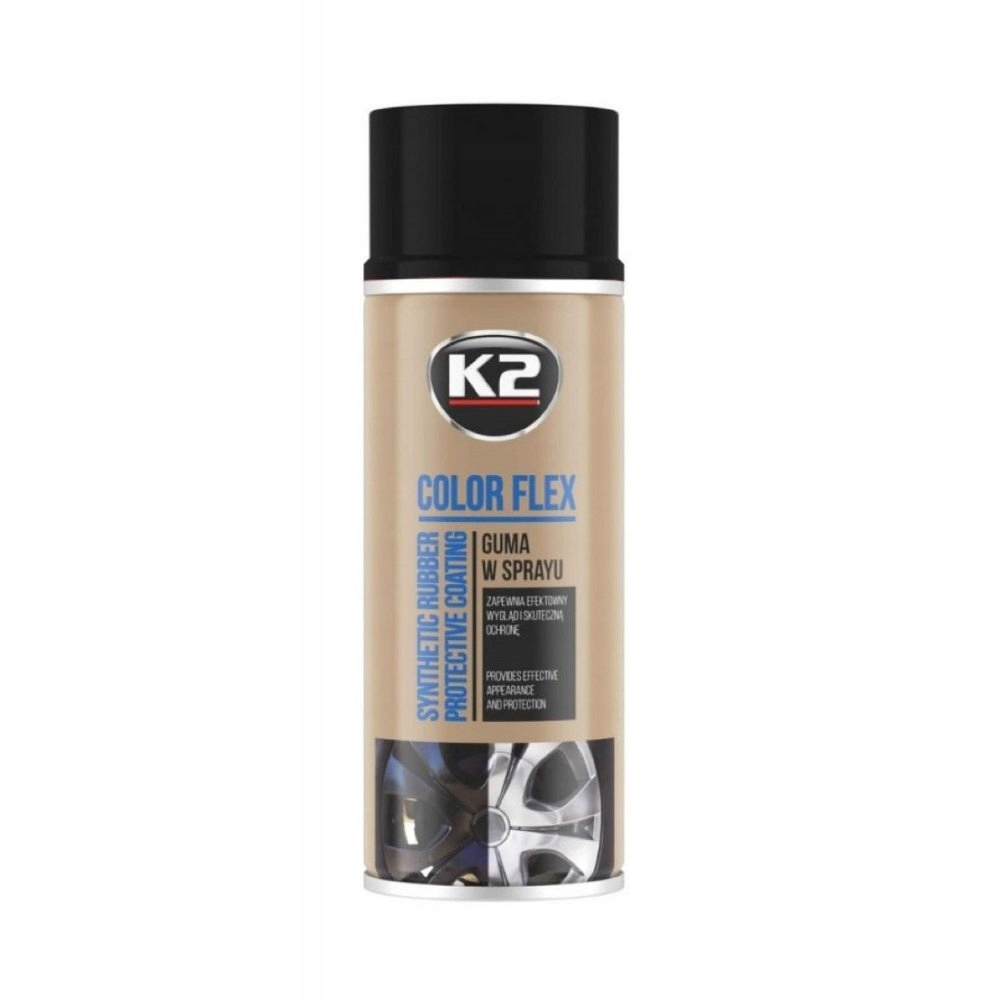 K2 FLEX FLEX LIQUID RUBBER SPRAY FOIL ЧЕРНАЯ МАТОВАЯ 400