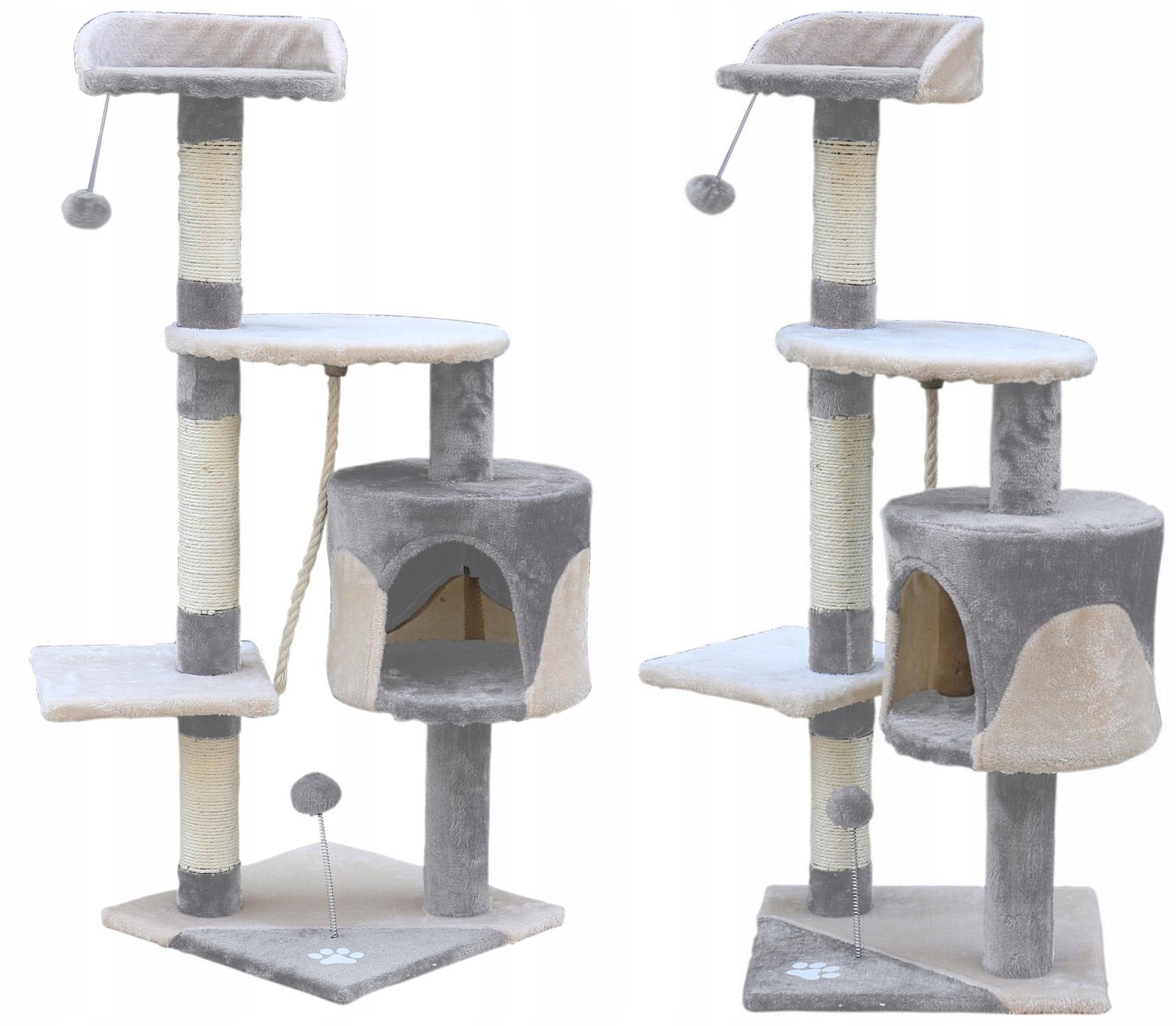 Когтеточка для кошек домик кровать веревка веревка ёлка