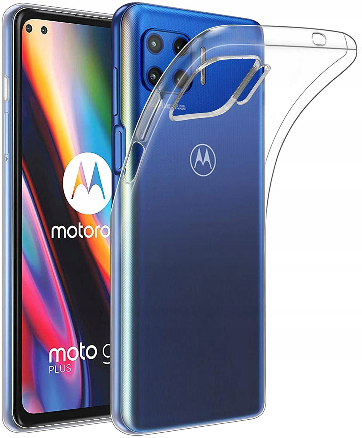Etui do Motorola Moto G 5G Plus Clear Case + Szkło