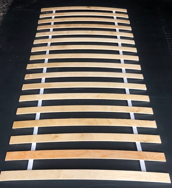 Каркас для матрасного вкладыша 17 ПЛАСТИН! кровать 80x200