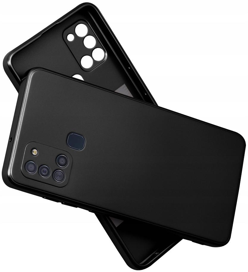 Etui do Samsung Galaxy A21S SILIKON CASE + SZKŁO