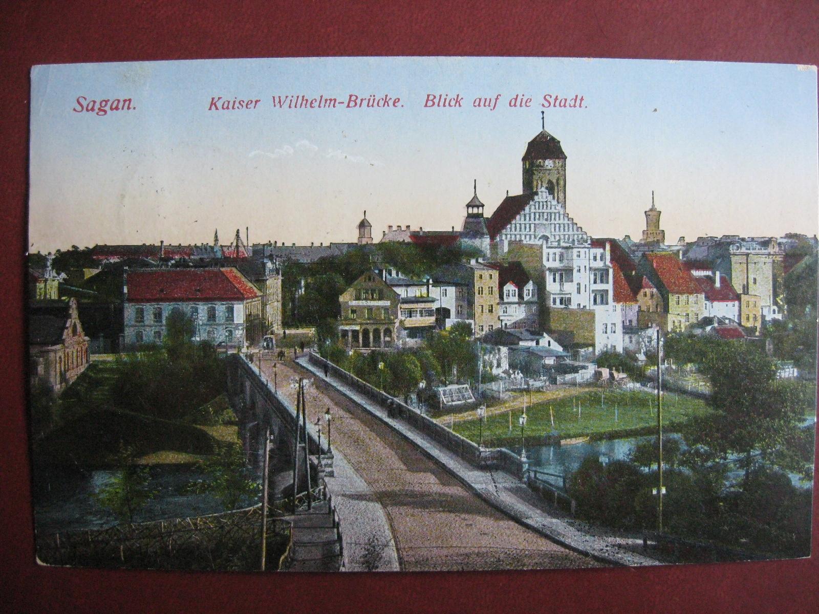 Мост AGAŃ вид на город Саган Вид. SS